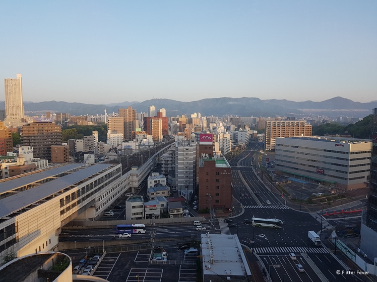 View on Hiroshima from Hotel Granvia