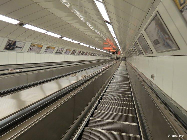 Budapest Metro view