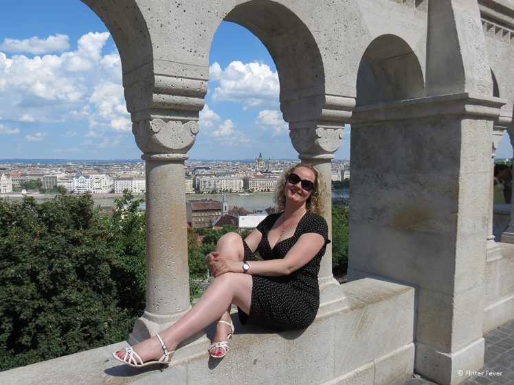 Gorgeous view from the Fishermens Bastion in Budapest