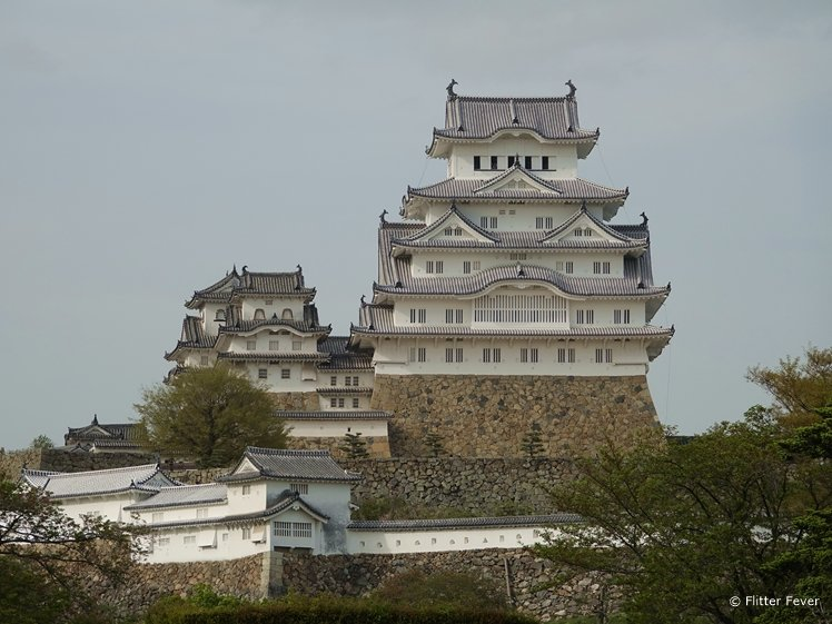 Himeji Castle close-up Japan