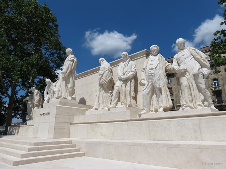 Kossuth Memorial in Budapest