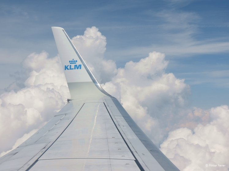 Flight to Budapest with KLM