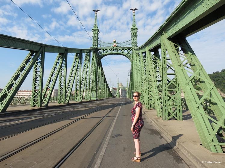 On the Liberty Bridge of Budapest
