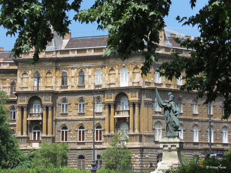 So many beautiful buildings in Budapest