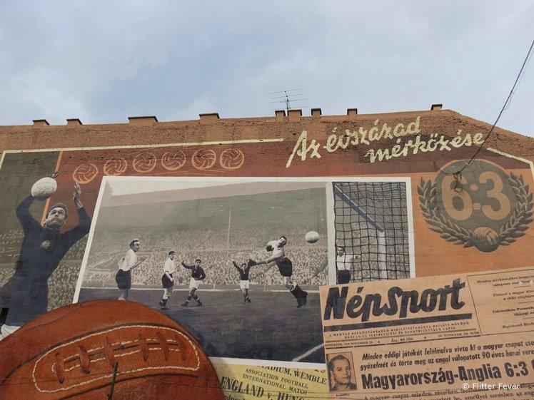 Street art sports Budapest