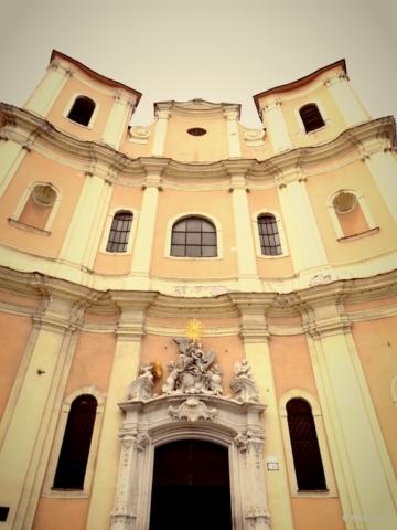 Church of the Holy Trinity (Pink Church) Bratislava