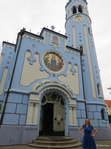 Flitter Fever at the Blue Church, Bratislava