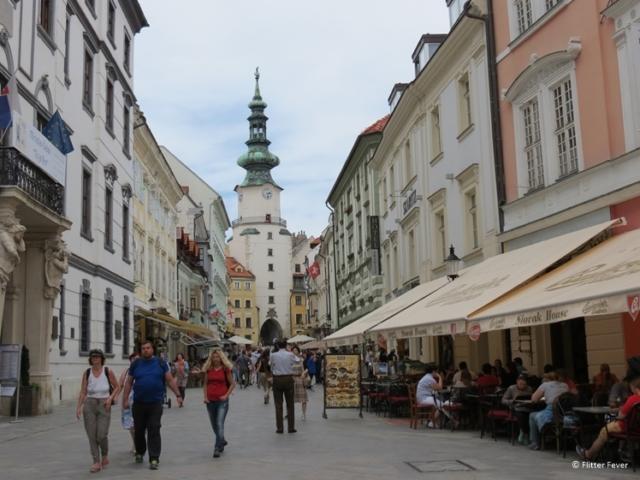 Michalska Street Bratislava