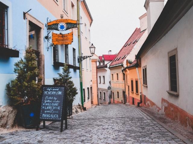 Modra Hviezda restaurant in Bratislava