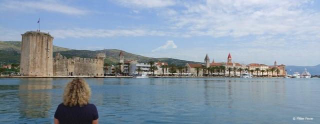 Trogir seen from the Marina Croatia Split