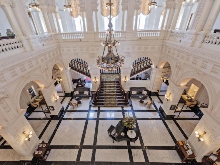 Amstel Hotel lobby amsterdam