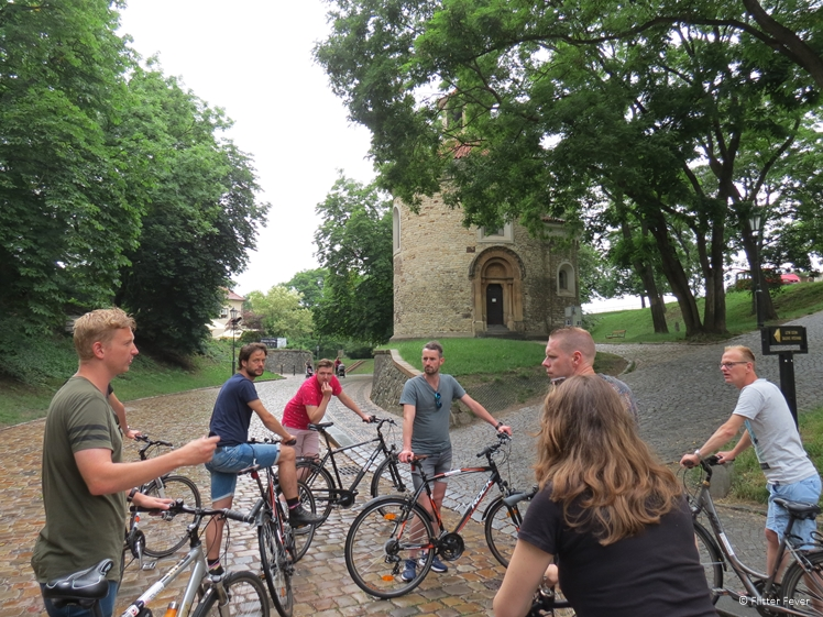 Brian show us Vysehrad, a place where mostly locals come