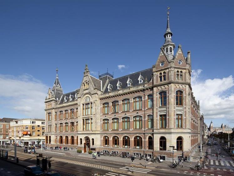 Conservatorium Hotel at the Van Baerlestraat in Amsterdam