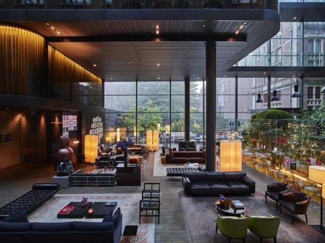 Conservatorium hotel Amsterdam lobby