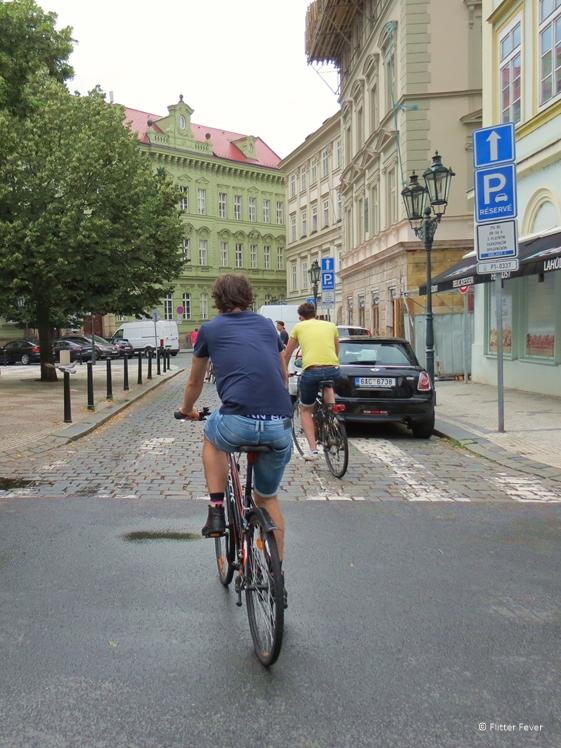 Cycling our ways through Prague to discover hidden gems