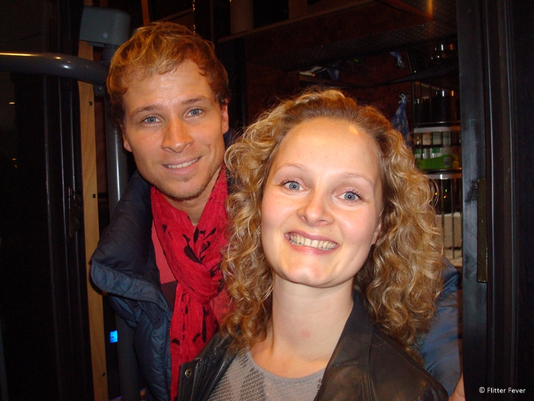 Me and Brian Littrell from the Backstreet Boys at the Okura Hotel Amsterdam