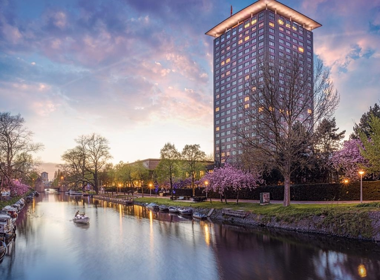 Okura Hotel Amsterdam outside