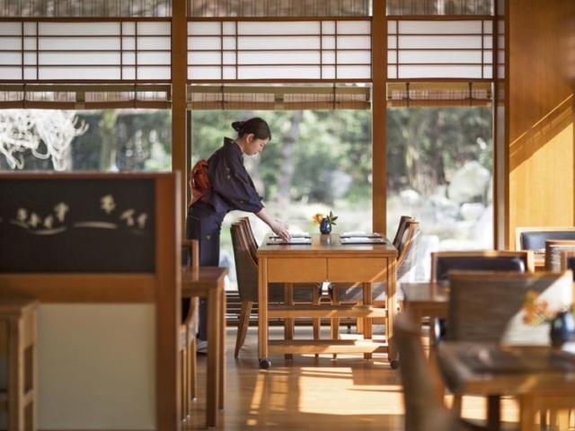 Okura Hotel Amsterdam restaurant Japanese
