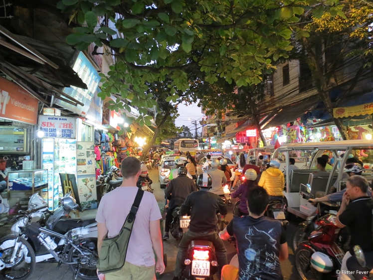 Exploring the streets of Hanoi