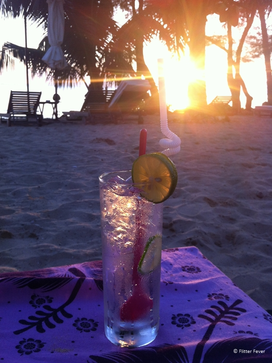 Longdrink on the beach of Phu Quoc Vietnam