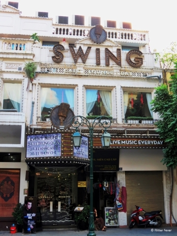 SWING cafe lounge bar in Hanoi