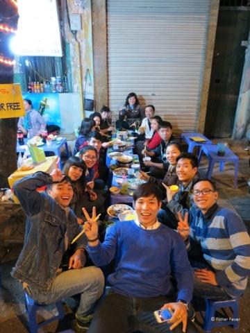 Say cheeeeeeese Bia Hoi Hanoi