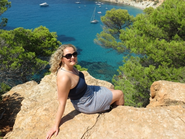 Afraid of heights bu the view is worth it - Ibiza