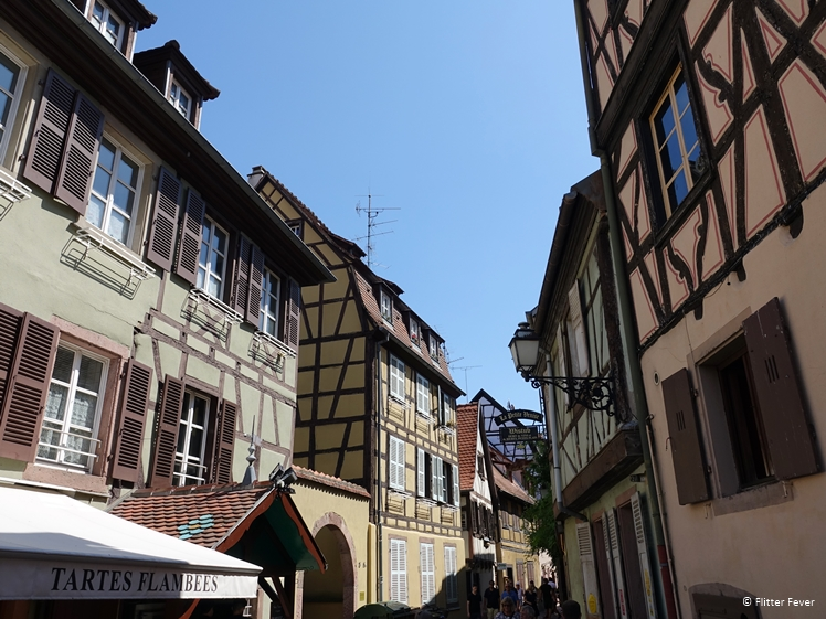 Buildings at Rue de la Poissonnerie, Colmar