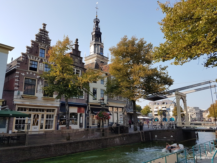 Canal view Alkmaar