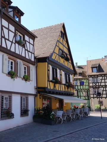 Colmar in the morning before restaurant open