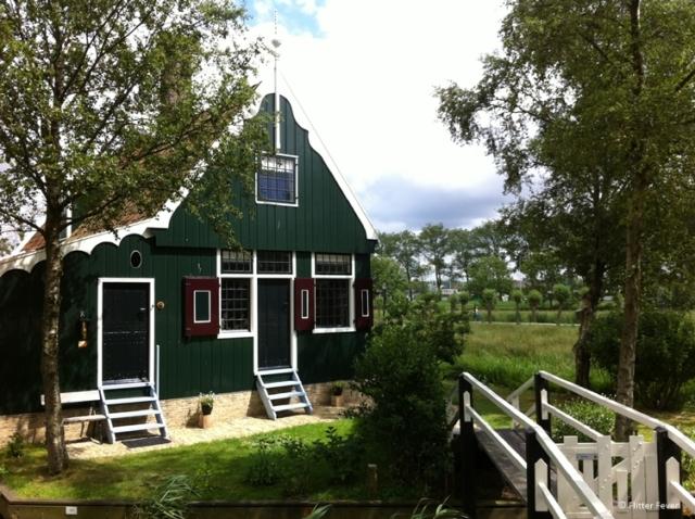 Cute wooden house at Zaanse Schans