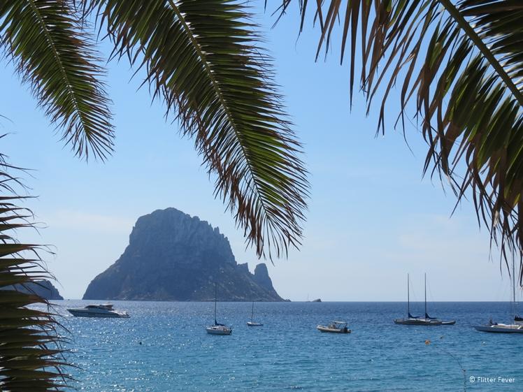 Es Vedra seen from Cala d'Hort beach
