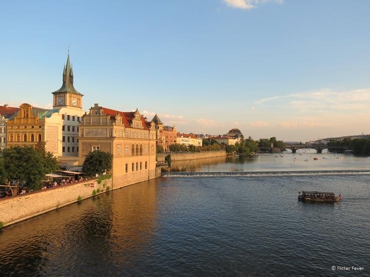 Golden Hour at Vltava River Prague
