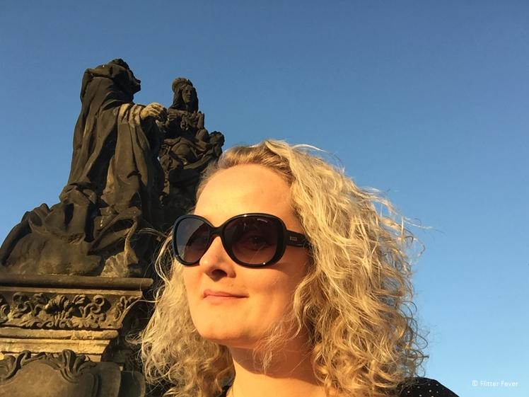 Golden Hour in Prague Charles bridge