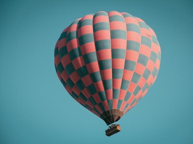 Hot air balloon Ibiza