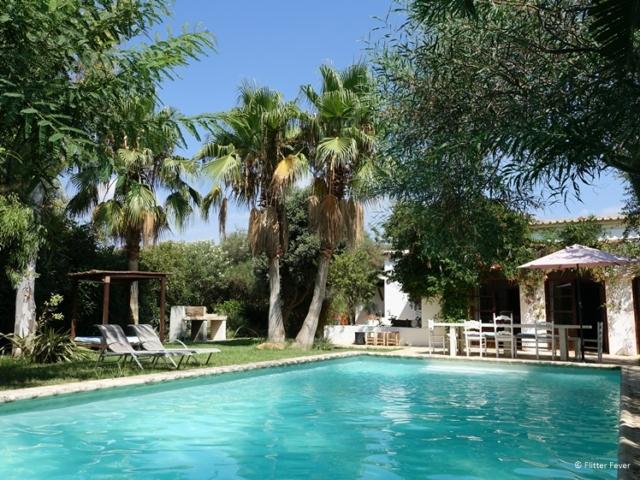 La Hacienda Ibiza pool and house