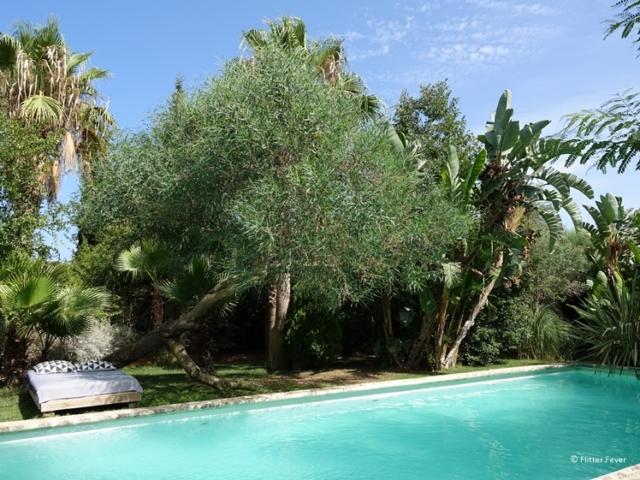 La Hacienda Ibiza tropical garden and pool