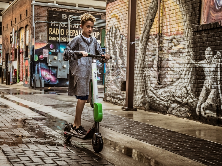 Lime scooter esteps