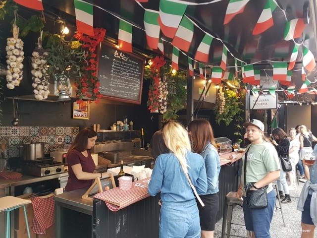 Italian container at Manifesto Florenc Prague