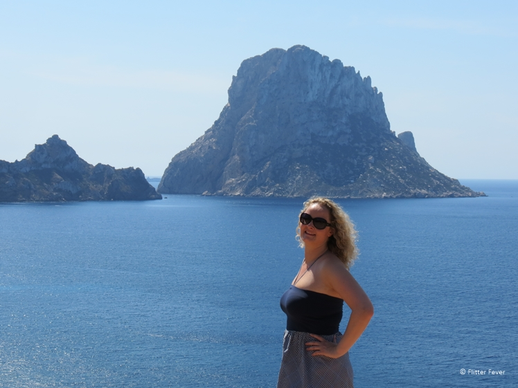 Me at Es vedra Ibiza