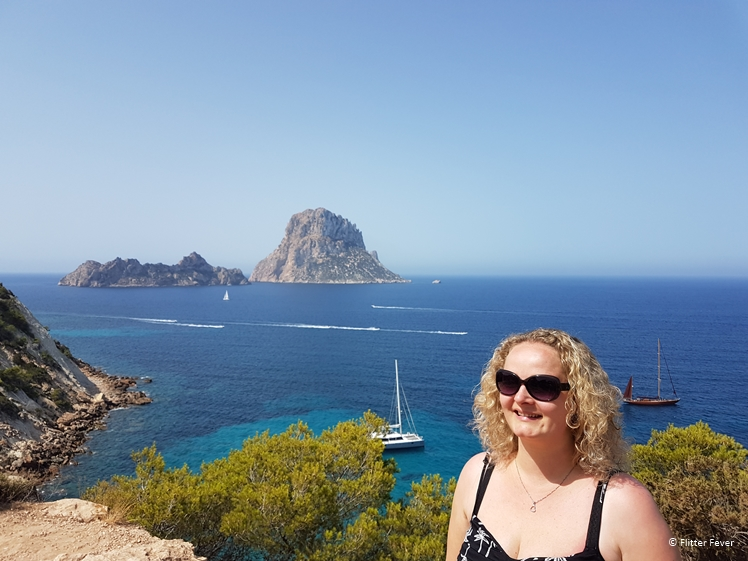 Of course I had to take a picture with Es Vedra Ibiza