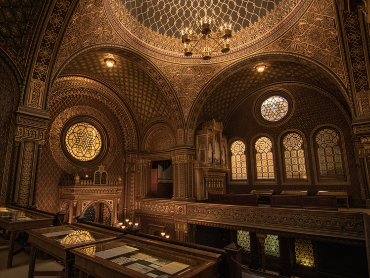 Spanish Synagoge Prague (photo credits Simon Wagner)