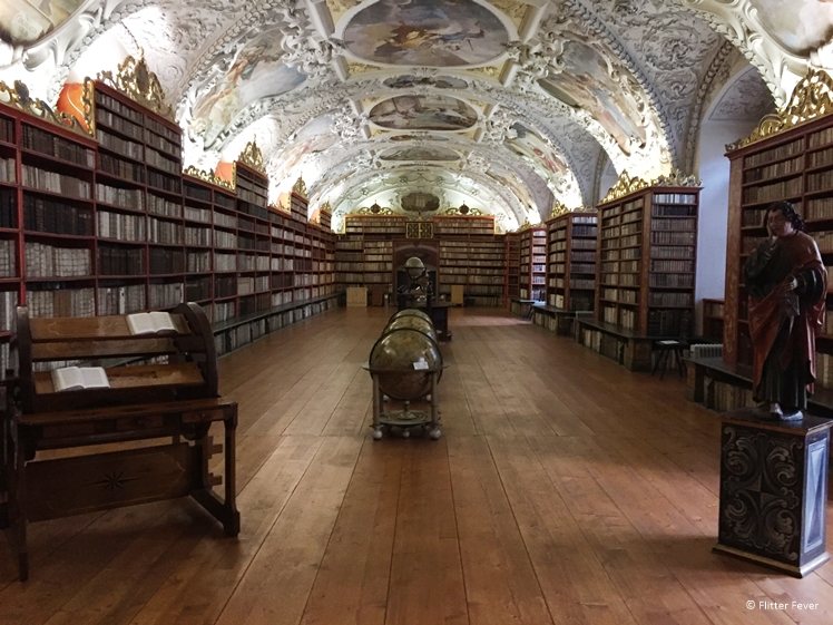 Beautifully decorated Library Prague