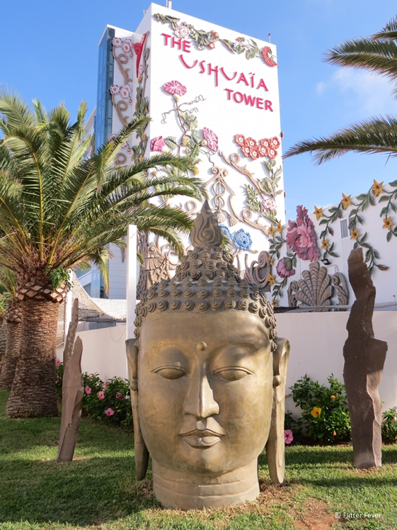 The Ushuaia Tower in Playa d'en Bossa Ibiza