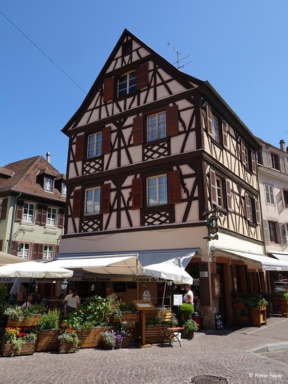 Winstub Brenner Colmar restaurant great