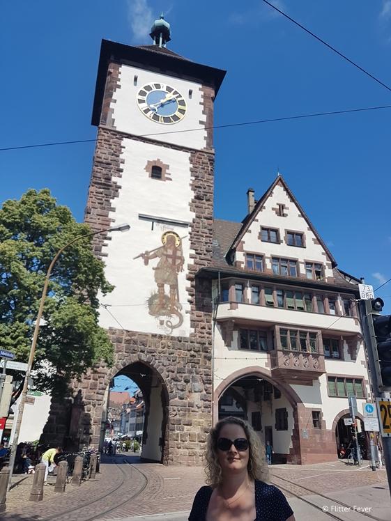City gate at Freiburg im Breisgau