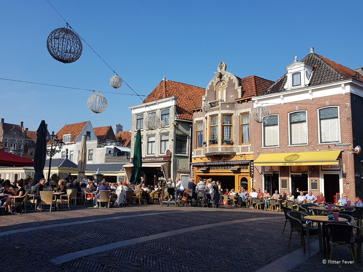 De Platte Stenen Brug in Alkmaar