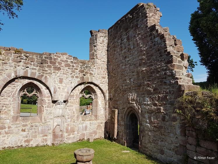 Die Klosteranlage Kniebis monastery ruin