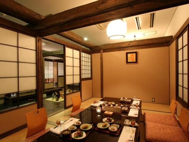 Dinner room for Hotel Fuki no Mori guests