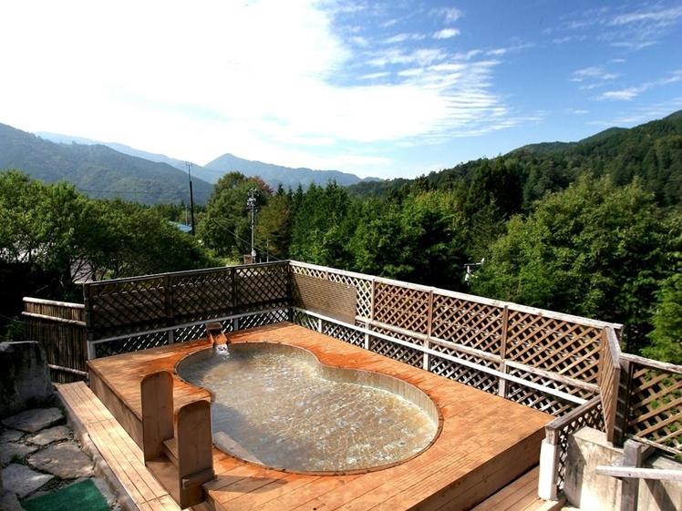 Onsen with a view at Hotel Fuki no Mori